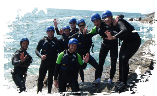 coasteering activity