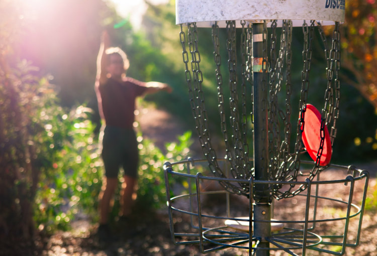Say hello to Frisbee golf